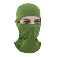 (軍綠)男女彈性透氣打野戰用騎行面罩頭套防風防沙防曬防蚊防蟲口罩登山電單車護臉頭罩帽蒙面帽飛虎帽Spandex Face Cover FH-10