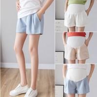 2020孕婦短褲 夏天薄款百搭 薄款棉麻孕婦托腹短褲