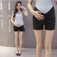 2020孕婦托腹短褲 顯瘦低腰托腹孕婦短褲