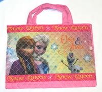 Forzen 愛莎安娜 ELSA & ANNA 手挽袋 兒童功課袋
