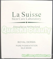 La Suisse 純天然海藻深層淡斑蠶絲面膜 - 6片盒裝