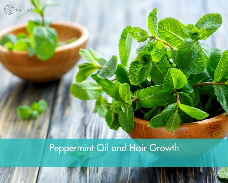 Stimulate Hair Growth with Peppermint Oil