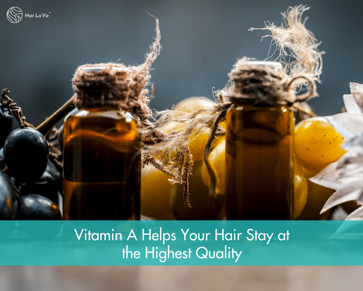 Vitamins for Fast, Thick, Healthy and Natural Hair Growth: Vitamin A