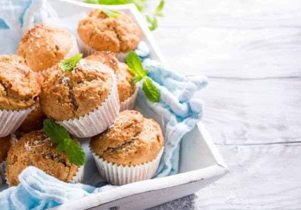 Easy Coconut and Sweet Potato Muffins for an Anti-Inflammatory Diet