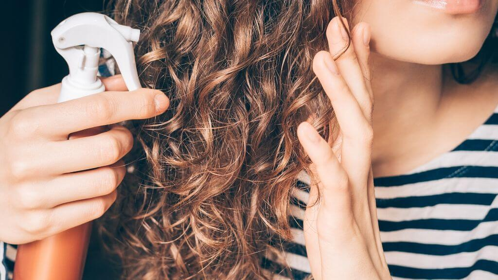 Natural hair texturizing spray
