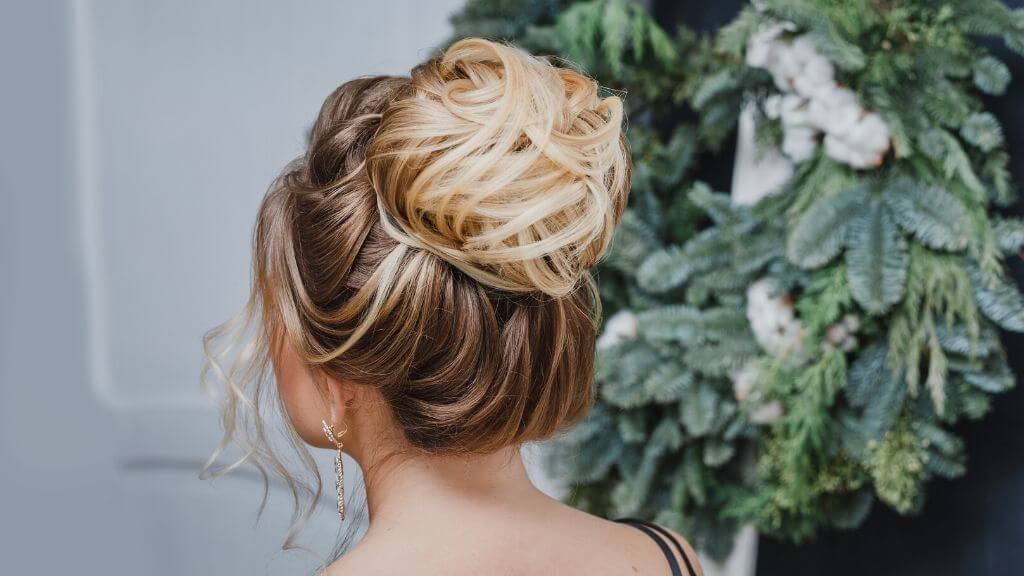 5 Different ways to shine for the holidays with a glammed updo