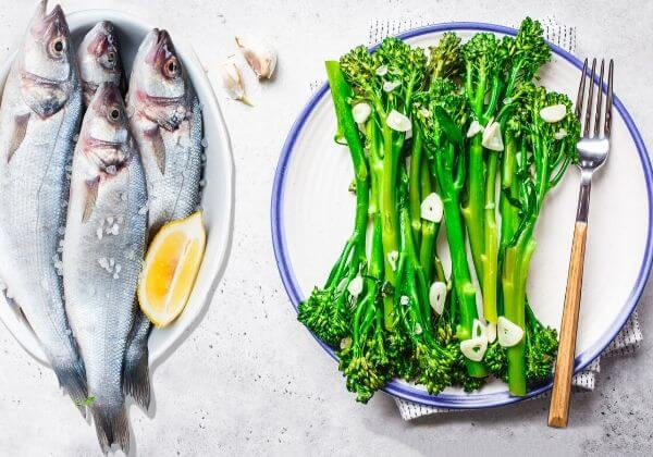 Omega-3s, Vitamins, and More: Sheet Pan Trout With Garlic Broccolini