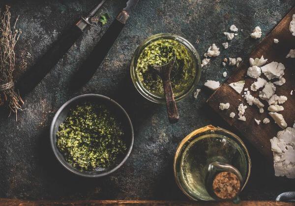 Tasty Flaxseed & Walnut Pesto - Men's Health - 1MD
