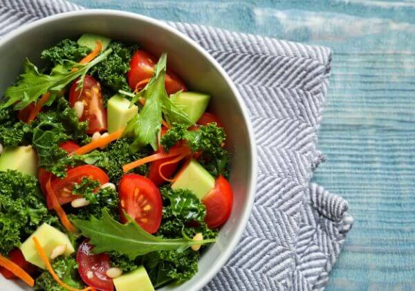 Enjoy the Health Benefits of Kale With This Diabetic-Friendly Salad