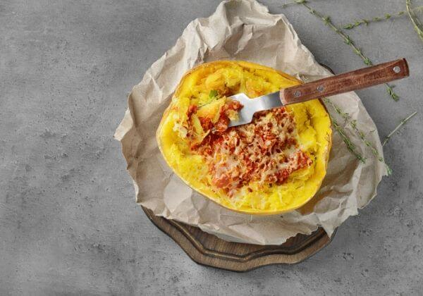 Spaghetti Squash Burrito Boats for an Easy, Natural, & Healthy Meal