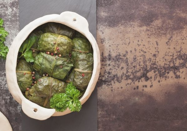Celebrate The New Year with BBQ Black-Eyed Pea Collard Wraps