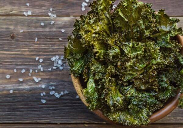 Perfectly Delicious Kale Chips Healthy Enough to Snack On