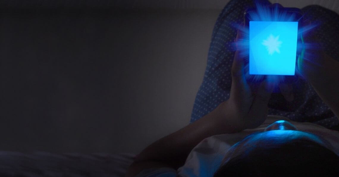 The Blue Light Effect: Being Grateful for Technology but Protecting Yourself, Too