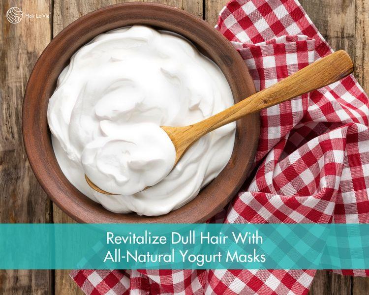 5 Yogurt Hair Masks That Repair Damaged