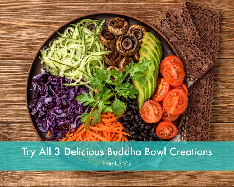 3 Super Healthy Vegan Buddha Bowl Recipes