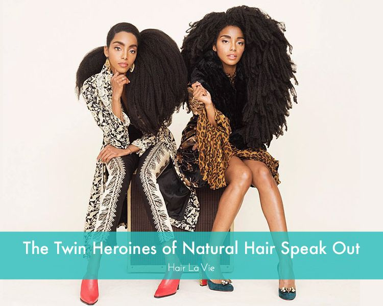 Meet The Twin Sisters Who Hated Their Hair Before But Love It Now