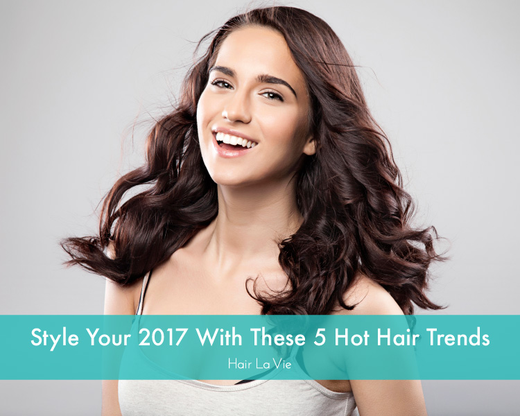 5 Most Popular and Hot Hairstyle Trends of 2017