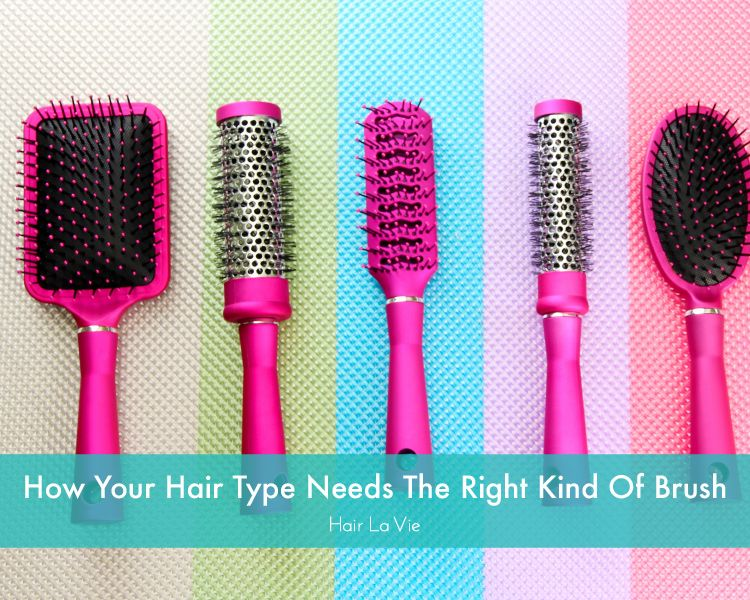 How To Choose The Right Hair Brush To Compliment Your Hair Type