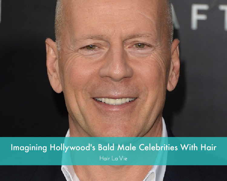 What Would These Bald Male Celebs Look Like If They HadHair?