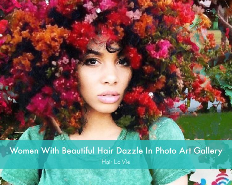 Artist Creates Spectacular Gallery of Women With Natural Hair