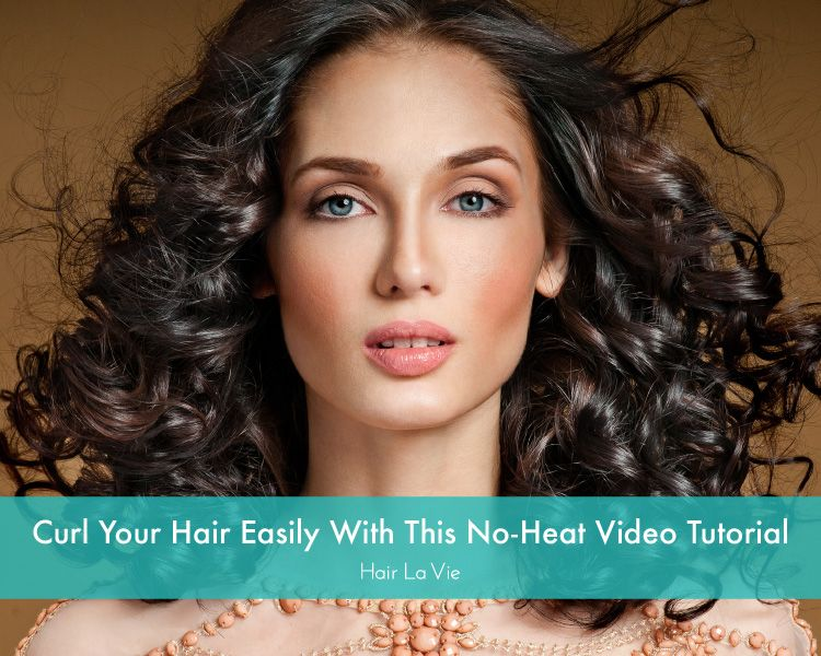 Quick and Easy Hair Tutorial: Curl Your Hair Without Any Damage From Heat