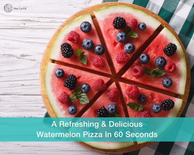 Beat The Heat In 60 Seconds With A Tasty And Healthy Watermelon Pizza Recipe
