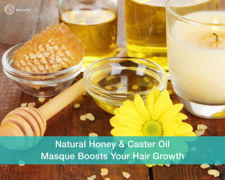 Boost Your Hair Growth With A Castor Oil & Honey Masque