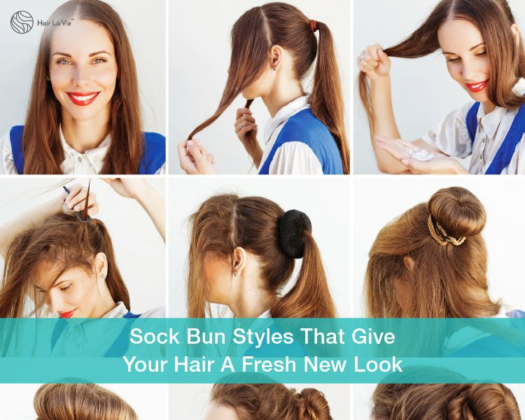Need Volume And Style? Try These Cool Sock Bun Tricks