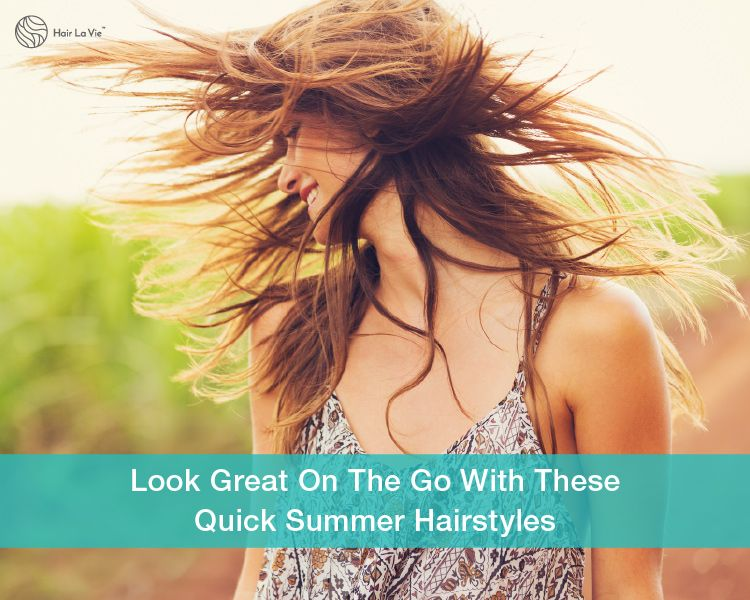 Fast Summertime Hairstyles Ready In Under 60 Seconds