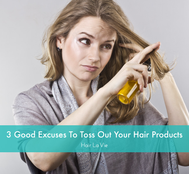 3 Reasons To Chuck Your Hair Styling Products