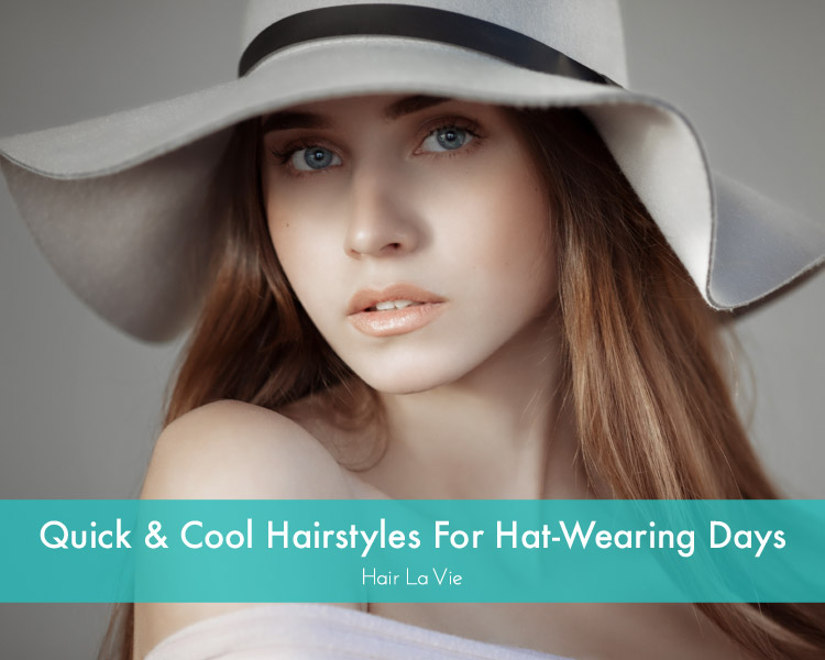 Hairstyles To Try When You're Wearing A Hat