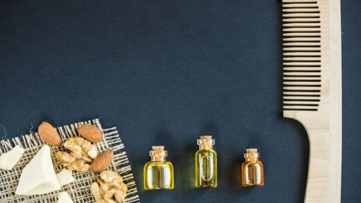 Home made oils for hair care
