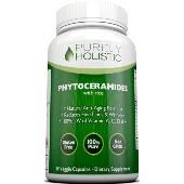 Purely Holistic Phytoceramides, Bottle Dietary supplement Veggie (30 Capsules)