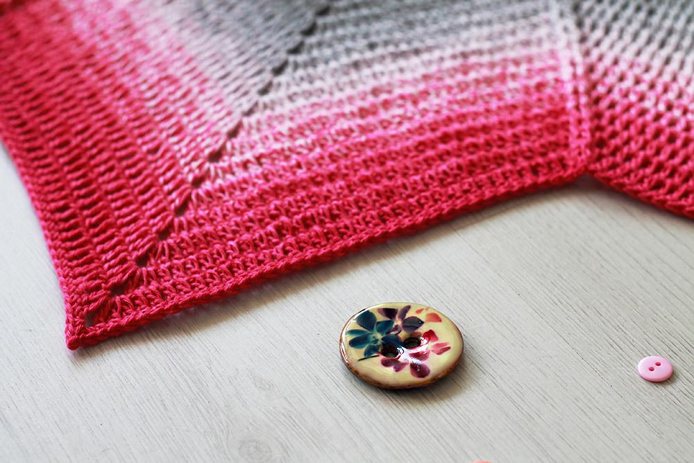 Raspberry Road Blanket | Haak Maar Raak