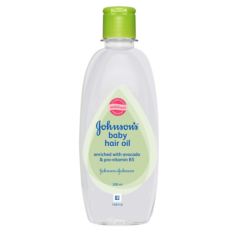 Johnson's Baby Hair Oil 200ml