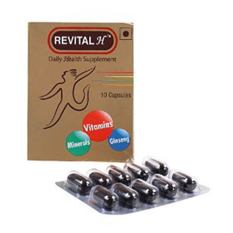 Revital H Daily Health Supplement 10 Capsules