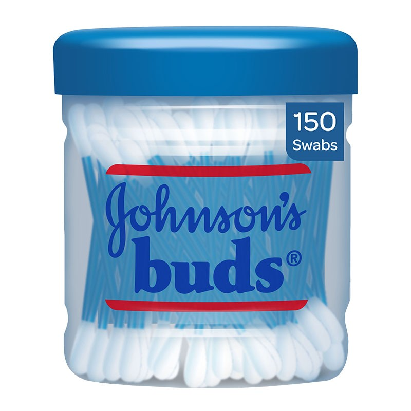 Johnson's Cotton Ear Buds 150 Swabs