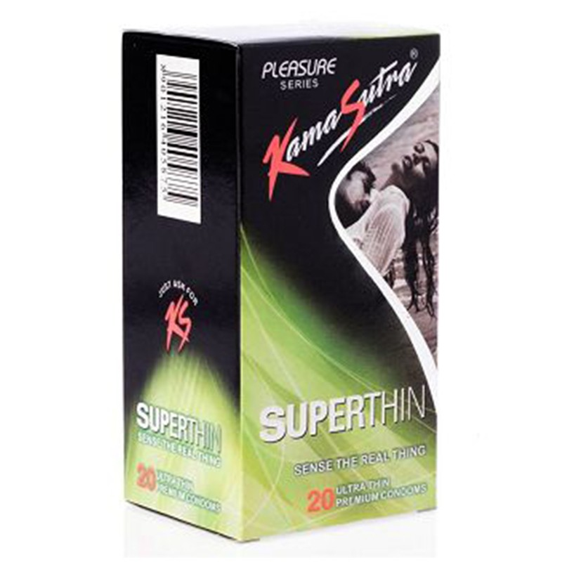 Kamasutra Super Thin Condoms Pack Of 20