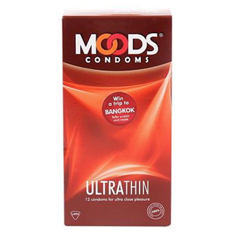 Moods Ultrathin Condoms Pack Of 12