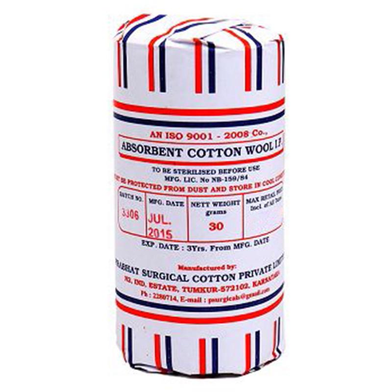 Ramsur Absorbent Cotton Wool LP 30gm