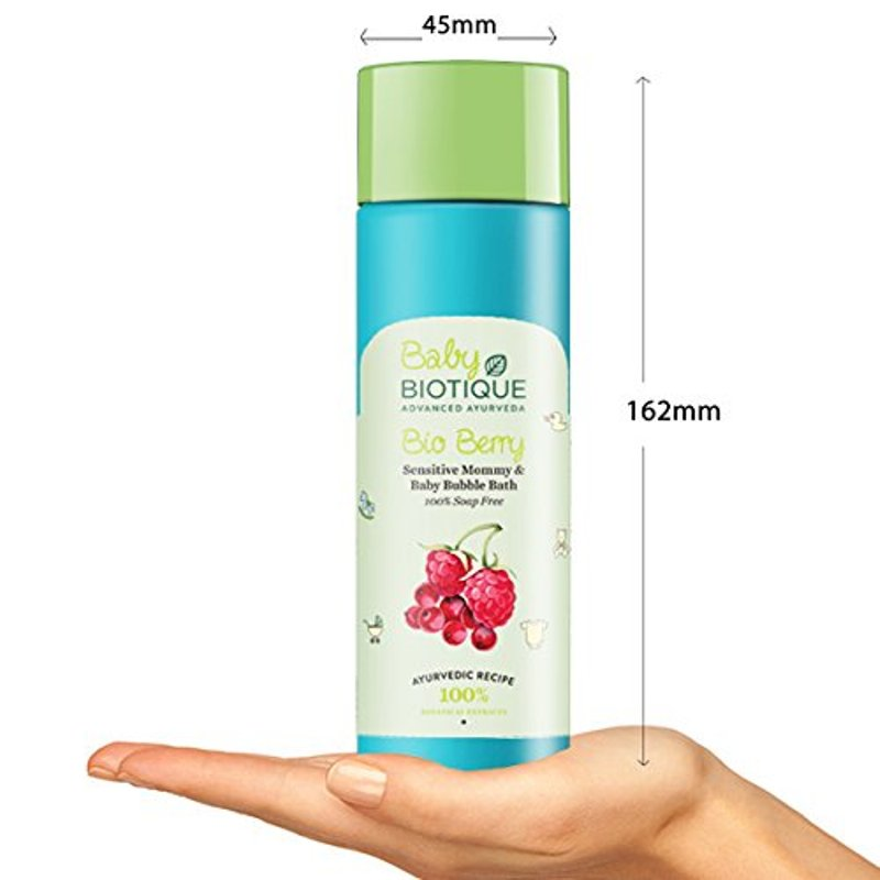 Biotique Baby Bio Berry Sensitive Mommy & Baby Bubble Bath 190ml