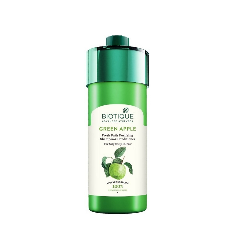 Biotique Green Apple Fresh Daily Purifying Shampoo & Conditioner 800ml