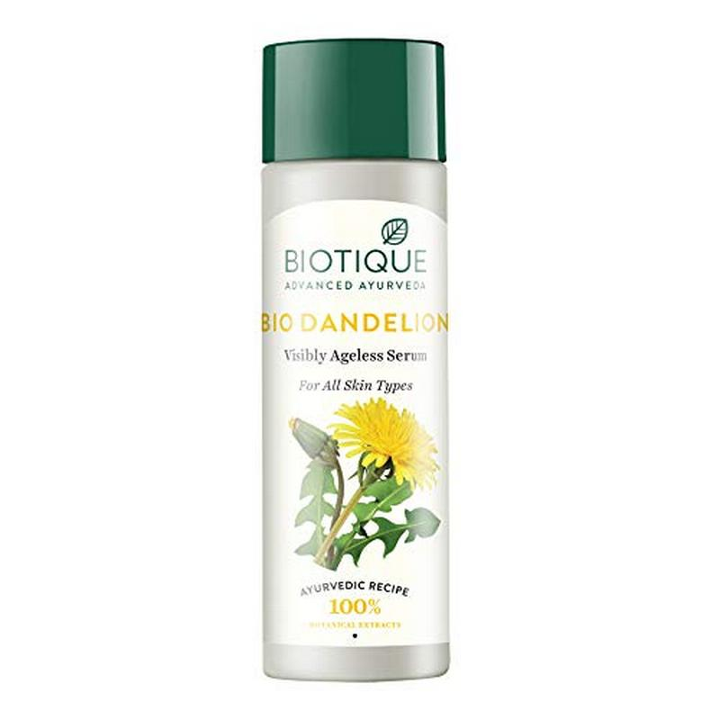 Biotique Bio Dandelion Visibly Ageless Serum 190ml