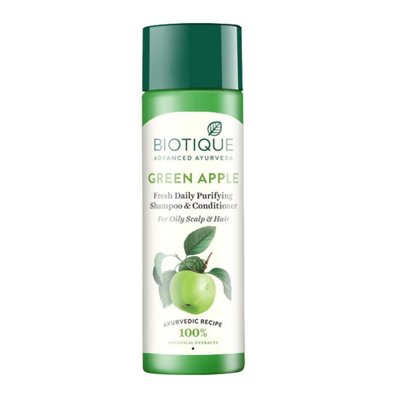 Biotique Green Apple Fresh Daily Purifying Shampoo & Conditioner 190ml