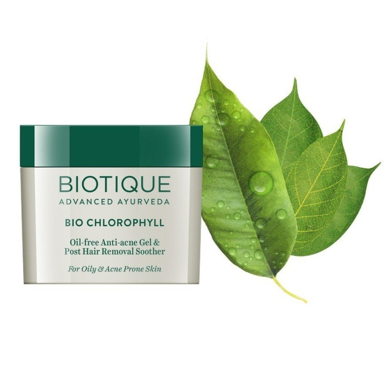 Biotique Bio Chlorophyll Oil Free Anti Acne Gel 50gm