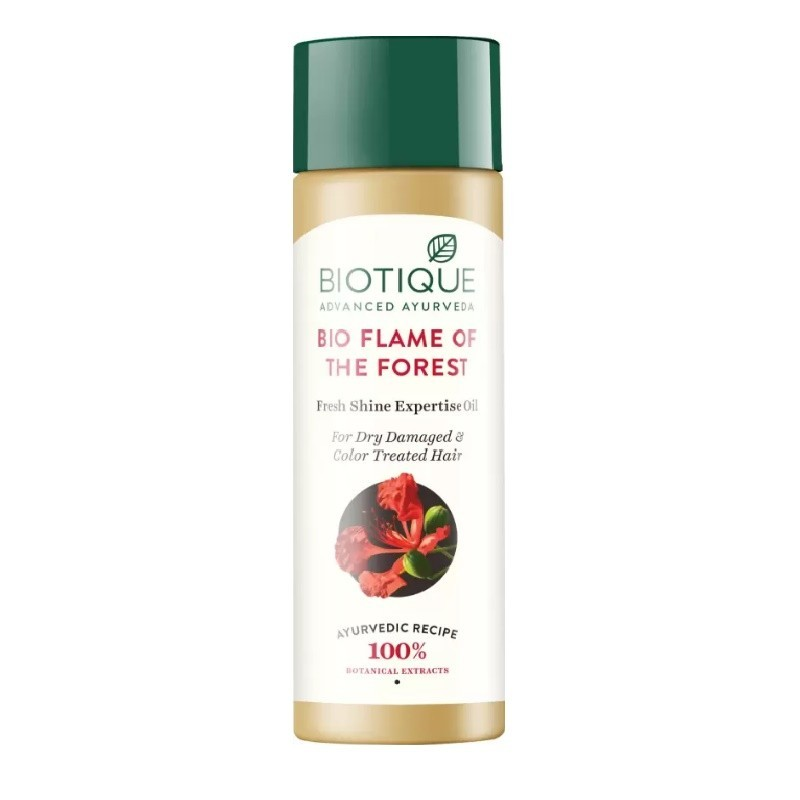 Biotique Bio Flame of Forest Fresh Shine Expertise Oil 120ml