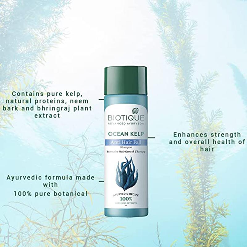 Biotique Bio Kelp Protein Shampoo For Intensive Hair Growth Treatment 190ml