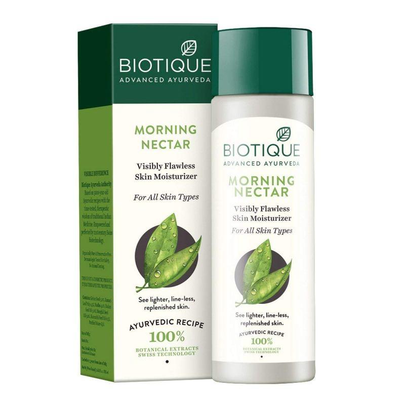 Biotique Bio Morning Nectar Visibly Flawless Skin Moisturiser 120ml