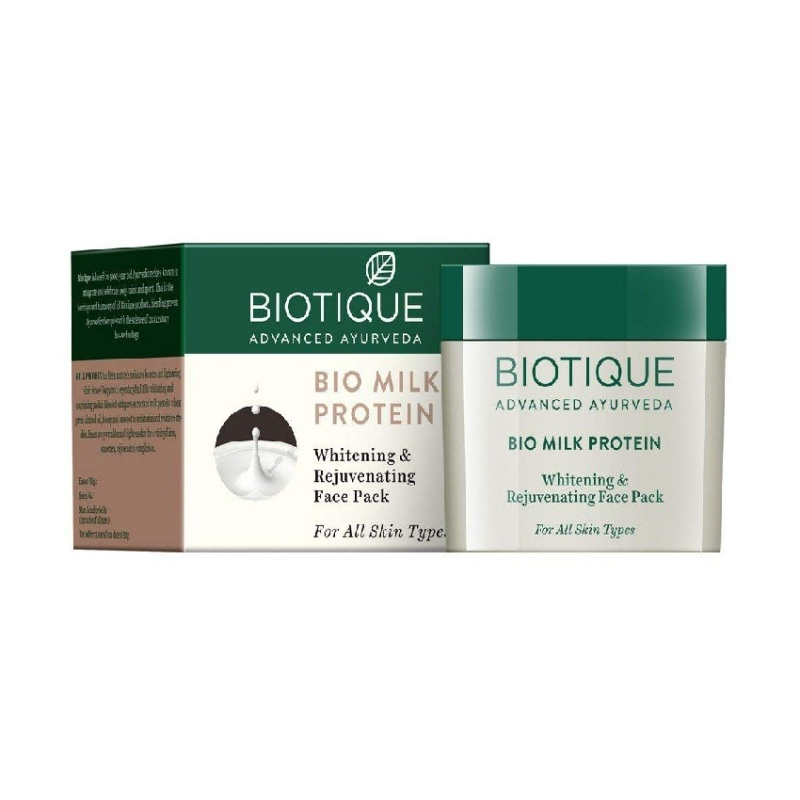 Biotique Bio Milk Protein Whitening & Rejuvenating Face Pack 50gm