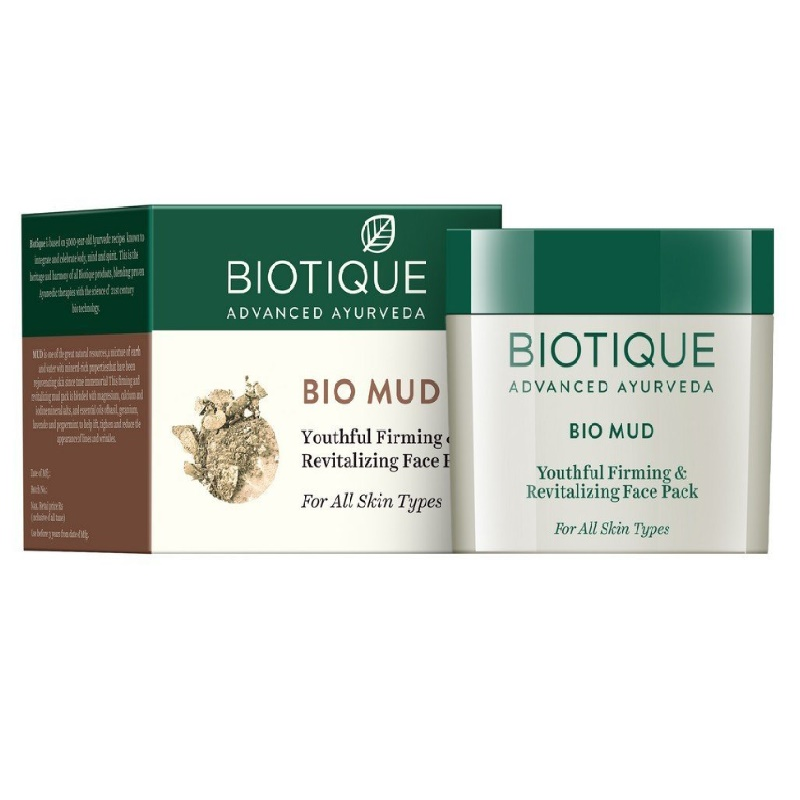 Biotique Bio Mud Youthful Firming & Revitalizing Face Pack 75gm